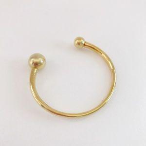 Ann Taylor Gold Cuff Bangle Stacking Bracelet